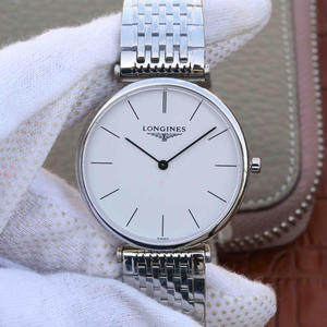 JF Longines Elegant Garland Series Swiss Quartz Movement Men's/Women's Ultra-thin Watch