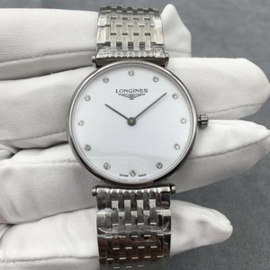 Longines Garland Series Quartz Watch Men's 33 Women's 24mm