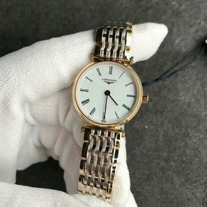 Longines L4.209.2.11.7 Jialan series ladies Swiss quartz movement superb