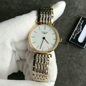 Longines L4.209.2.12.7 Jialan series female ultra-thin quartz watch original authentic open mold